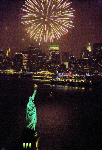 4th of July in New York City