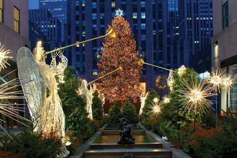 Christmas tree NYC | New York Sightseeing