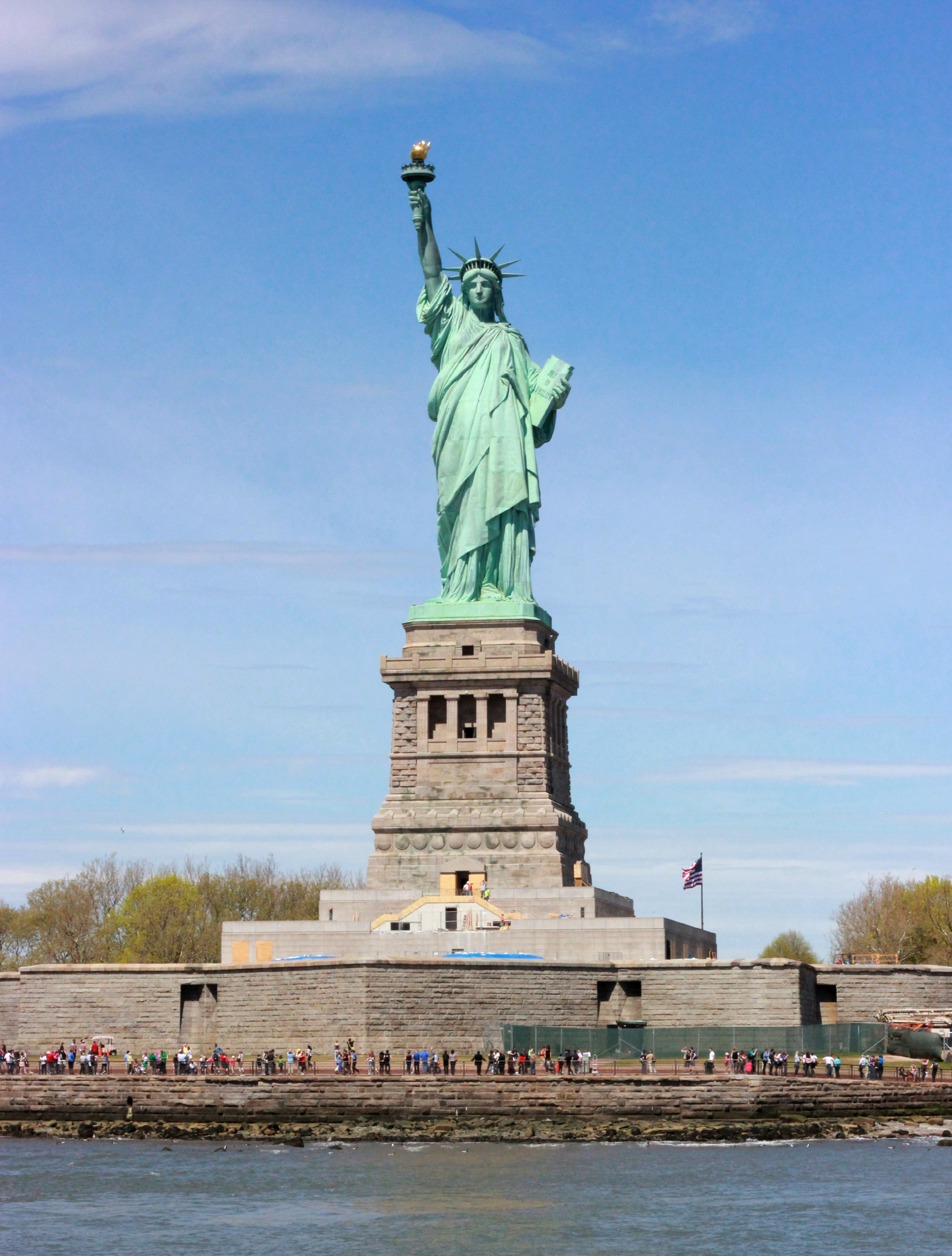 UPDATE* The Statue of Liberty Interior Will Open in On July Fourth ...