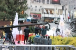 Preparing for Christmas at Rockefeller Center