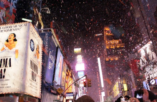 New Years Eve in Times Square