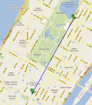 2013 St. Patrick's Day Parade Route, nyc