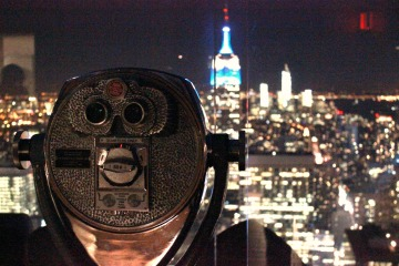 top of the rock, nyc,