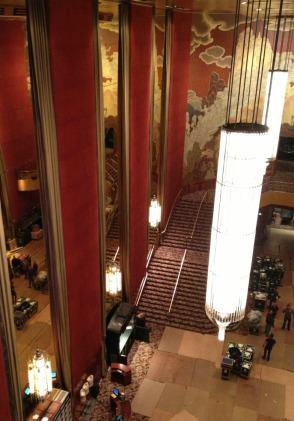 radio city stairs