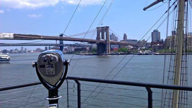 View from Pier 17 at the South Street Seaport