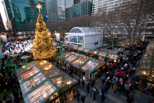 bryant park holiday