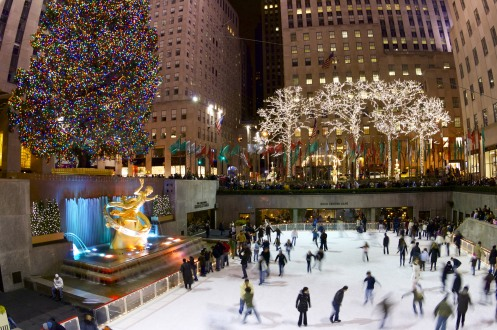 Image result for rockefeller center christmas