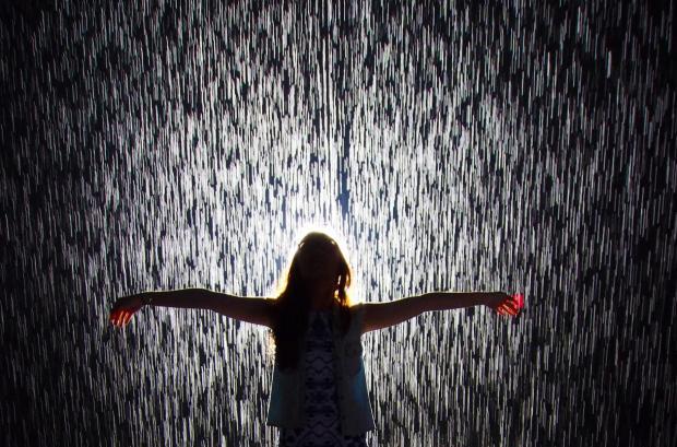 MoMa rain