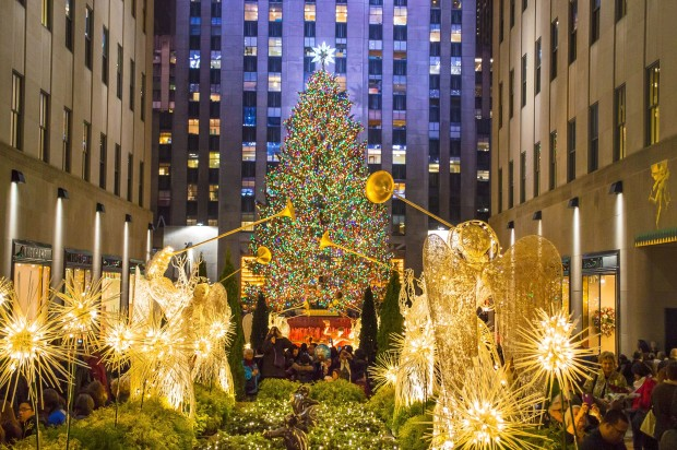 rockefeller center christmas treet